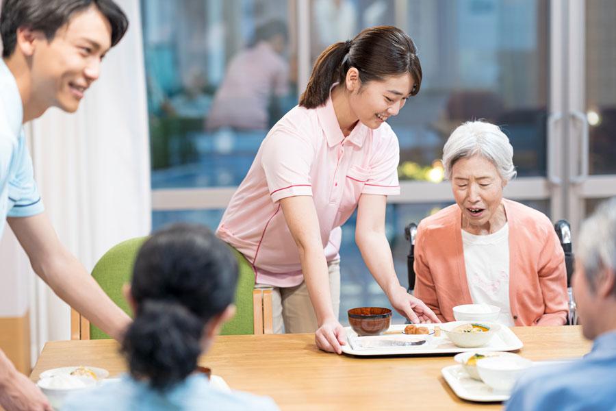画像:住宅型有料老人ホーム